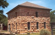 1879 former Taylor County Courthouse and Jail, Buffalo Gap Texas