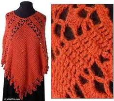 Image result for free poncho patterns