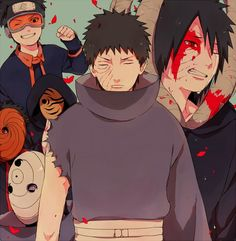 Uchiha Obito. Naruto. View full-size (986x1008 961 kB.)