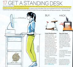 DIY standing desk (No idea where this is from)