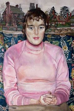 Miss Ashwanden in Cookham  Stanley Spencer
