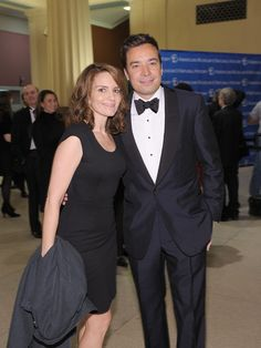 Tina Fey and Jimmy Fallon