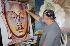 new Buddha in progress