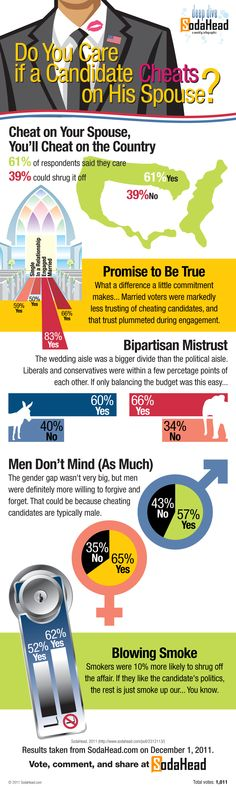 Infographic - Public Opinion on Cheating Candidates