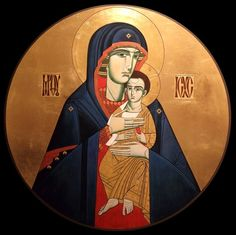 Mother of God (contemporary) by Lyuba Yatskiv