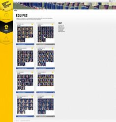 Peça: Equipes no App Projeto: Batalha das Quadras Cliente: Nike Ano: 2013 Agência: LiveAD