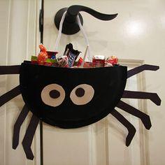 spider treat bag