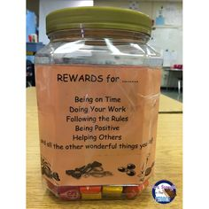 """Students can choose to be rewarded with the """"sure thing"""" with a treat from the Reward Jar or take their chances with my boxes!"""