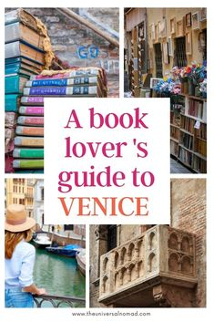 Venice, Italy is a magical place for book lovers. With its narrow streets, bridges, and canals, the city has inspired centuries of writers. Come along on a tour of the best places in Venice to find books. #venice #venezia #italy #booklovers European Travel Tips, Italy Travel Tips, Rome Travel, Travel Destinations, Best Places In Italy, Best Of Italy, Cool Places To Visit, Literary Travel, Travel Books