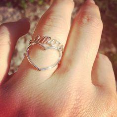 Anelli in oro bianco 18 kt. #amore #cuore #oro #orobianco #gold #oridivicenza