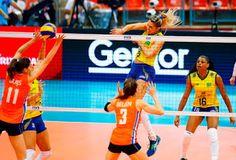 Blog Esportivo do Suíço: Brasil passa pela Holanda e, sem perder sets, vai à final do Grand Prix