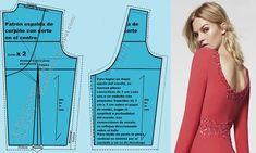 Patrón básico delantero de blusa personalizado (A medida o anatómico) (Actualizado) Dress Patterns, Sewing Patterns, Princess Cut Blouse, Bodice Pattern, Techniques Couture, Photo Tips, Designer Dresses, Athletic Tank Tops, Dressing