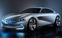 Pininfarina 'HK GT' Concept Car Unveiled in Geneva