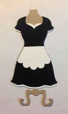 Stampin' Up! Dress Up Framelits Maids Outfit