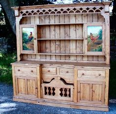 Design your own sweet English Farmhouse Furniture - French Country Buffet Rustic Farm Sideboard English Country Server Hutch Cupboard - French Furniture yourself for free! Learn it at http://www.countryfrenchfurniture.net/