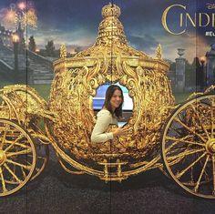 Cinderella carruagem pôster