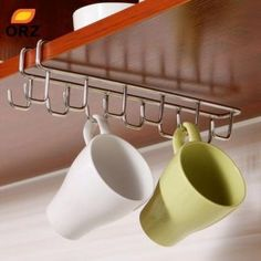 Cheap cupboard hanging hook shelf, Buy Quality dish hangers directly from China bathroom organizer Suppliers: Stainless Steel Kitchen Storage Rack Cupboard Hanging Hook Shelf Dish Hanger Chest Storage shelf Bathroom Organizer Holder Metal Storage Shelves, Cutlery Storage, Cupboard Shelves, Storage Rack, Storage Chest, Easy Storage, Rack Shelf, Storage Ideas, Home Organization Hacks