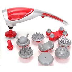 Mua Máy massage cầm tay 10 đầu Magic Plus (Đỏ) chính hãng, giá tốt tại Lazada.vn, giao hàng tận nơi, với nhiều chương trình khuyến mãi giảm