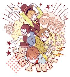 Kid N Teenagers, Kids, People Illustration, Light Novel, Fangirl, Manga, Pixiv, Drawings, Cute