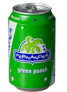 Fernandes Green Punch - Frisdranken - Alc.vrij | Online Kopen & Bestellen | Whisky, Gin, Vodka, Rum, Gin, Absinth