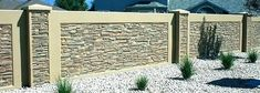Others are precast concrete walls or brick walls that are put up as permanent st – How To Build A Fence Concrete Block Retaining Wall, Concrete Fence Posts, Retaining Wall Patio, Retaining Wall Design, Concrete Block Walls, Cinder Block Walls, Brick Fence, Precast Concrete, Brick Walls