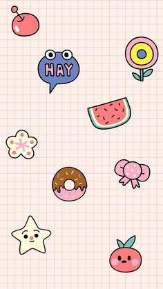 New wallpaper iphone cartoon pattern Ideas