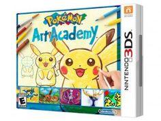 Pokémon Art Academy para Nintendo 3DS - Nintendo