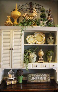 Shelf decor that suits all.