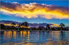 Swansea sunset - Tasmania, Australia