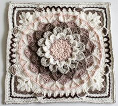"""""""Around the Bases"""" Afghan [Free Crochet Pattern]  is a crochet stitch sampler that turns YOUR favorite center block into an afghan. It was originally published as a crochet along (CAL) with 16 """"innings"""" or sets of stitches that were released over 16 weeks in 2015."""