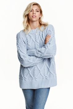 Cable-knit jumper | H&M