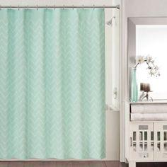 Blake Shower Curtain in Aqua - www.BedBathandBeyond.com
