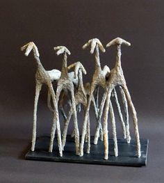 Sculptures | Sandrine Bouleau Oeuvre D'art, Les Oeuvres, Sculptures, Wordpress, Metal, Crafts, Ideas, Paper Mache, Birch