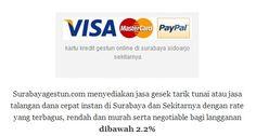 SurabayaGestun.com melayani jasa tarik gesek tunai gestun kartu kredit untuk dana talangan pinjaman cepat aman wilayah surabaya dan sekitarnya dengan rate terbaik. Hubungi PIN:758B903A atau 082232360607