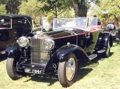 Old Convertible Pictures from 1913 to 1932