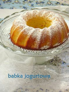 Secret way to the kitchen: Babka jogurtowa - wilgotna i delikatna