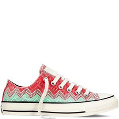 900748cdd8 Converse X Missoni Chuck Taylor All Star Washed Canvas carnival Converse  Jack Purcell