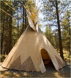 Comment fabriquer un tipi (tepee)? Plan, tuto, images How to make a teepee (tepee)? India, Night Lamps, Permaculture, Habitats, Outdoor Gear, Images, How To Plan, Native Americans, Articles