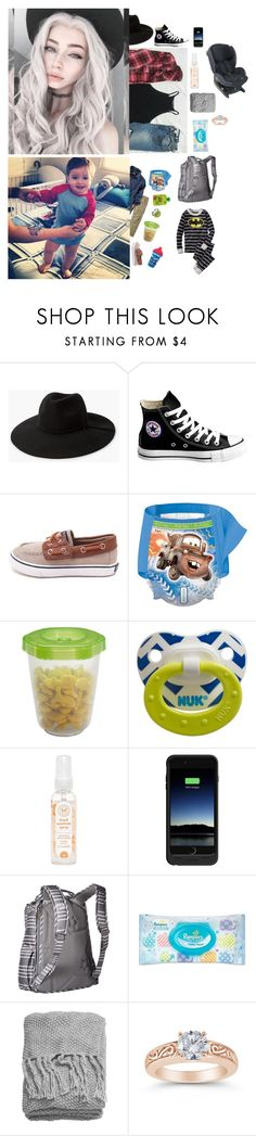 """""""Lydia and James"""" by maddie-hatt3r ❤ liked on Polyvore featuring Carter's, MANGO, GET LOST, Converse, Sperry, Gerber, The Honest Company, Mophie, Ju Ju Be and Hanna Andersson"""