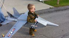 Requesting a fly-by - Navy Jet Costume