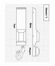 Use this handy template to sketch out your Pinewood Derby car design ...