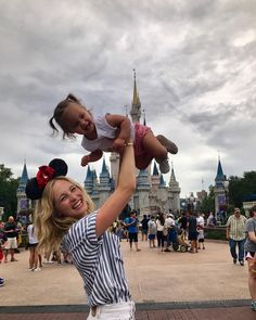 "I love this ❤ Candice King (@craccola) on Instagram: ""First trip to Disneyworld for Florence May! Time to fly baby girl! @waltdisneyworld"""