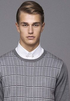 hair from SPRING 2014 MENSWEAR Brioni