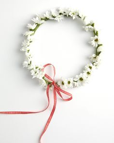 Don a Flower Crown-I used to make these when I lived in Germany with the wild flowers in the countryside.