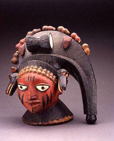 Yoruba Egungun Mask, Nigeria