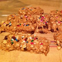 No bake pb2 & banana energy bars @Robyn Pratt
