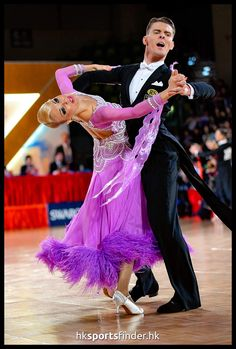 Dmitry Zharkov and Olga Kulikova - WDSF Grand Slam Standard Hong Kong 5 June 2016
