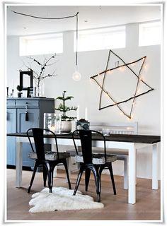 Christmas DIY – twig star | Nordic Bliss