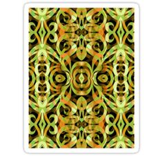 SOLD sticker Ethnic Style! #Redbubble #sticker #ethnic #floral #abstract http://www.redbubble.com/people/medusa81/works/9915309-ethnic-style?p=sticker