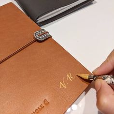 Noëlie | Calligraphique (@calligraphique) • Photos et vidéos Instagram Notebook, Photos, Instagram, Calligraphy, Objects, Leather, Pictures, The Notebook, Exercise Book
